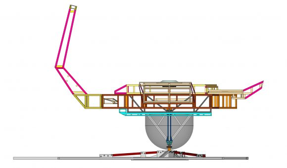 Cosmic Carousel Structure Elevation