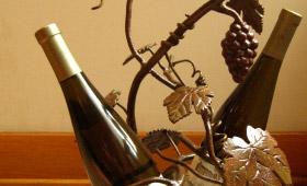 2 Bottle Wine Centerpiece